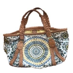 Cole Haan gorgeous embroidered bag!